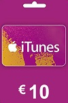 Apple iTunes, App Store €10 Gift Card NETHERLANDS