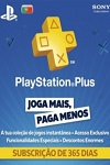 Sony Playstation Plus 365 Day Subscription Portugal