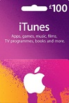 Apple iTunes, App Store £100 Gift Card UK