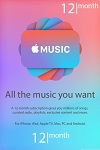 Apple Music 12 month subscription U.S.