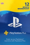 Sony PlayStation PLUS 12 Month Membership UK