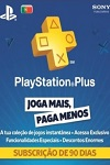 Sony Playstation Plus 90 Day Subscription Portugal