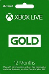 Xbox Live 12 month GOLD Subscription WORLDWIDE