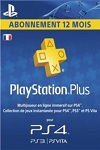 Sony Playstation Plus 12 Month Subscription France