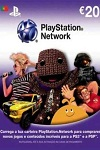 Playstation Network Live Card €20 Portugal