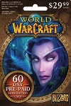 World Of Warcraft 60 Day Prepaid Card USA