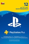 Sony Playstation Plus 12 Month Subscription Oman