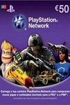 Playstation Network Live Card €50 Portugal