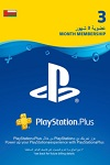 Sony Playstation Plus 3 Month Subscription Oman