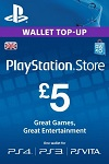 Playstation Network Live Card £5 UK