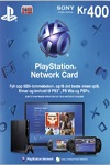 Playstation Network Live Card 400Kr Norway