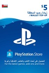 Playstation Network Live Card $5 Oman
