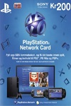 Playstation Network Live Card 200Kr Norway
