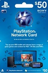 Playstation Network Live Card $50 Australia