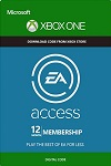 12 month EA Access for Xbox ONE WORLDWIDE