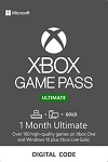 1 Month Xbox Live Gold + Game Pass Ultimate Xbox One/PC WW