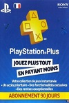 Sony Playstation Plus 3 Month Subscription France