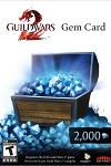 Guild Wars 2 Gem Card 2000 WORLDWIDE