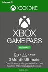 3 Month Xbox Live Gold + Game Pass Ultimate Xbox One/PC Worldwide