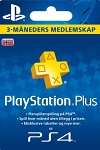 Sony Playstation Plus 3 Month Subscription Norway