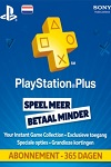 Sony Playstation Plus 365 Day Subscription Netherlands