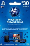 Playstation Network Live Card $30 Australia
