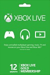 Xbox Live 12 month GOLD Subscription EU and UK
