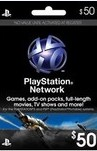 Playstation Network Live Card $50 USA