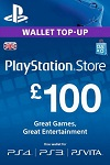 Playstation Network Live Card £100 UK