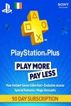 Sony Playstation Plus 90 Day Subscription Ireland