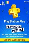 Sony Playstation Plus 365 Day Subscription Ireland