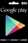 Google Play $50 Gift Card CANADA