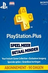 Sony Playstation Plus 90 Day Subscription Netherlands