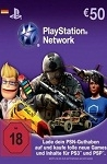 Playstation Network Live Card €50 Germany