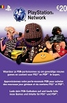 Playstation Network Live Card €20 Belgium