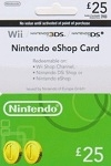 Nintendo eShop Prepaid Card £25 UK