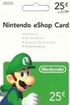 Nintendo Wii U/3DS prepaid card €25 EUROPE