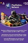 Playstation Network Live Card €50 Belgium