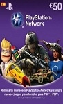 Playstation Network Live Card €50 Spain