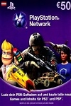 Playstation Network Live Card €50 Austria