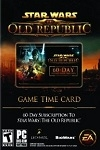 Star Wars: The Old Republic 60 Day Time Card WORLDWIDE