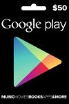 Google Play $50 Gift Card USA