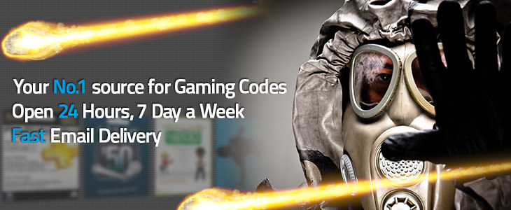 Your No.1 source for Gaming Codes. Open 24 Hours, 7 Day a Week. Fast Email Delivery.