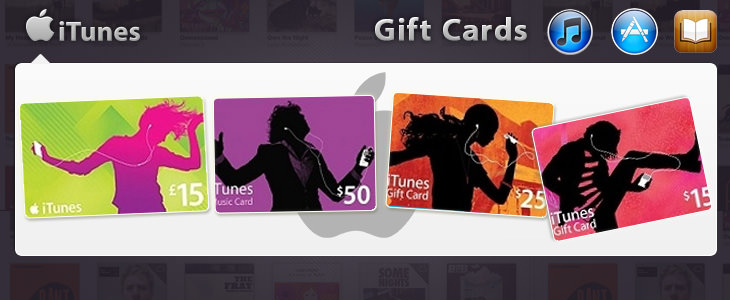 iTunes - Gift Cards